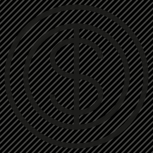 coin, dollar, finance, fund, money icon