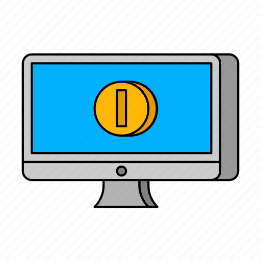 e-commerce, mac, online shop icon