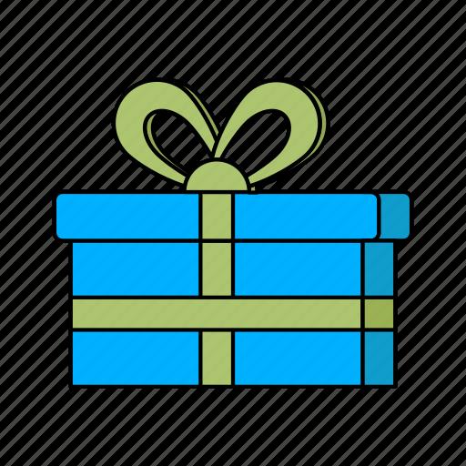 e-commerce, gift, money icon