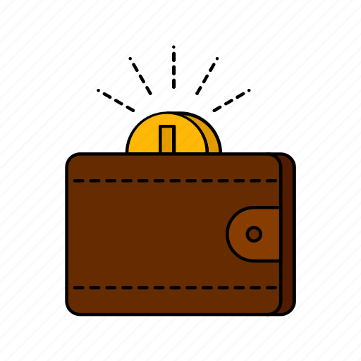 e-commerce, money, saving, wallet icon