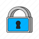 e-commerce, security icon