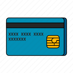 credit card, e-commerce icon