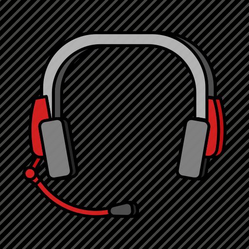 customer service, e-commerce, headphones icon