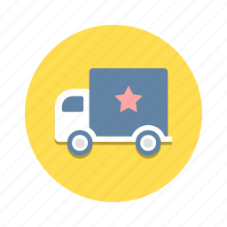 delivery, shipment, shipping, transport, transportation, truck, vehicle icon