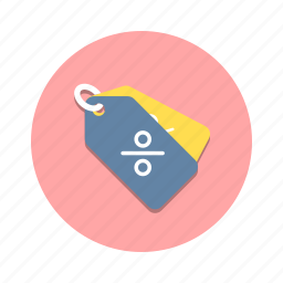 discount, percent, price, promotion, sale, tag icon