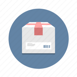 box, courier, delivery, package, parcel, shipping, transport icon
