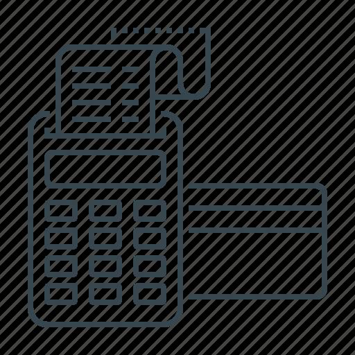 check, checkout, order, order checkout, stripe, stripe terminal, terminal icon