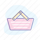 basket, business, cart, commerce, retail, shopping, store icon