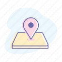 adress, business, gps, location, map, marker, pin