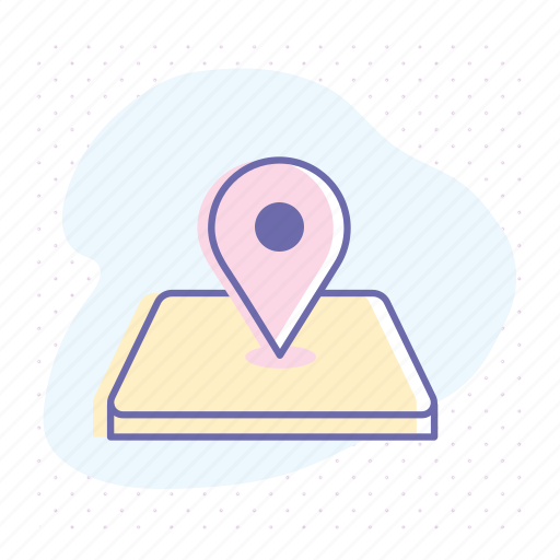 adress, business, gps, location, map, marker, pin icon
