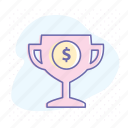 best, best price, best proposal, business, prize, winner icon