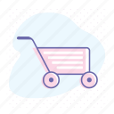business, commercial, market, retail, shop, shopping cart icon