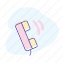 call, connection, contact, phone, support, telephone, voice message icon