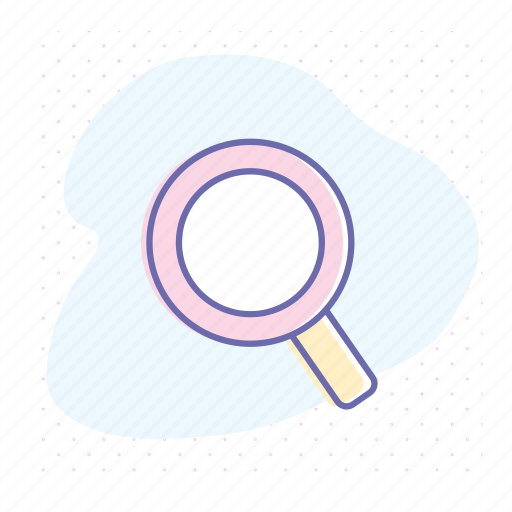 find, focus, lupe, optical, search, tool, zoom icon