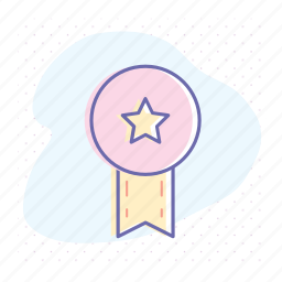 award, badge, guarantee, label, premium, quality, star icon