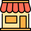 business, commercial, mall, market, retail, shop, store icon