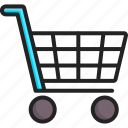 basket, buy, cart, retail, shopping, store, trolley