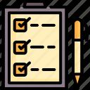 business, checklist, clipboard, document, list, message, order