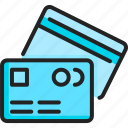 banking, card, credit, finance, money, paying, payment icon
