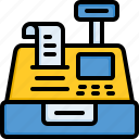cashbox, cashier, payment icon