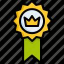 medal, premium, quality icon