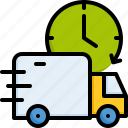 cargo, delivery, truck
