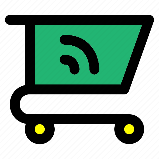 cart, feeds, history, shopping, trolley icon