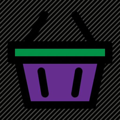 basket, box, cart, trolley icon