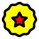 premium, product, quality, special, star icon