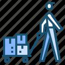 cargo, shipping icon