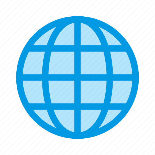 contacts, globe, web, world icon