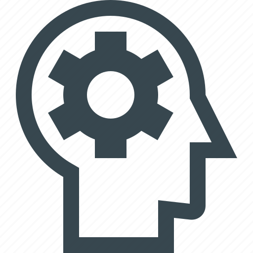 brain, brainstorm, creative, head, idea, think, thinking icon