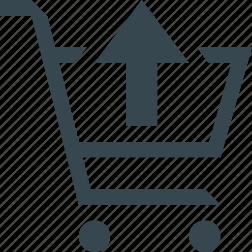 cancel, delete, minus, remove, shop, shopping, trolley icon