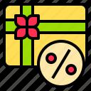 computer, digital, gift, internet, online, technology, website icon