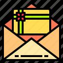 digital, gift, internet, online, technology, voucher, website icon