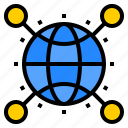 computer, digital, global, internet, online, technology, website icon