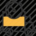 commerce, e, ec, logistics icon