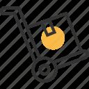 commerce, e, ec, transport icon