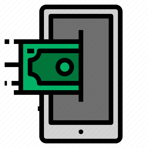 mobile, shopping, smartphone icon