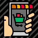 digital, marketing, online icon