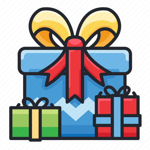 birthday, gift, giveaway, party, prize icon