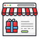 e-commerce, market, online, online shop, website icon