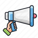 discount, launch, marketing, sale, sales, speaker icon