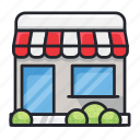 building, house, market, offline store, shop, store icon