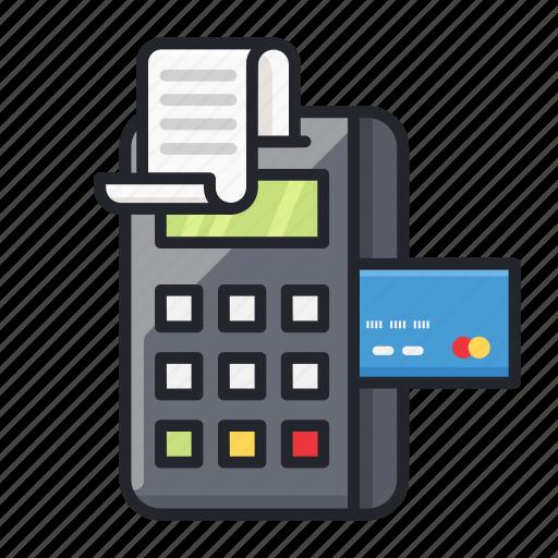Cash register, credit card, edc, struck, transaction icon - Download on Iconfinder