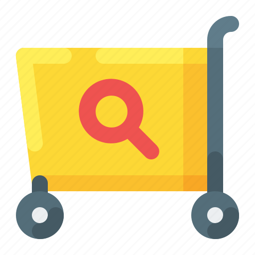 cart, ecommerce, search, shopping icon