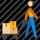 cargo, protection, shipping icon