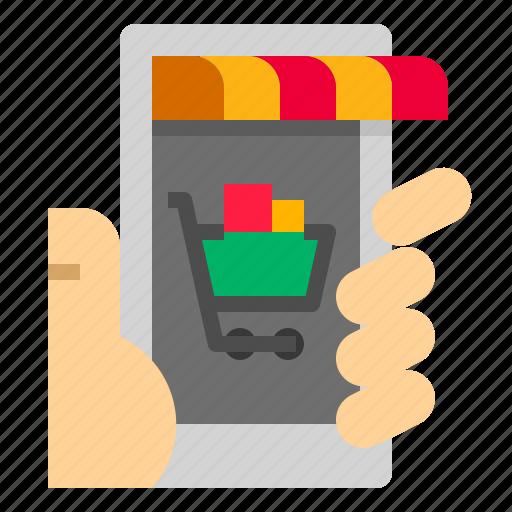 market, online icon