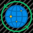 network, globe