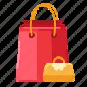 bag, e-commerce, paper bag, shop, shopping